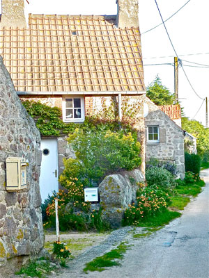 Location Cotentin mer-gîte de bord de mer -Hameau