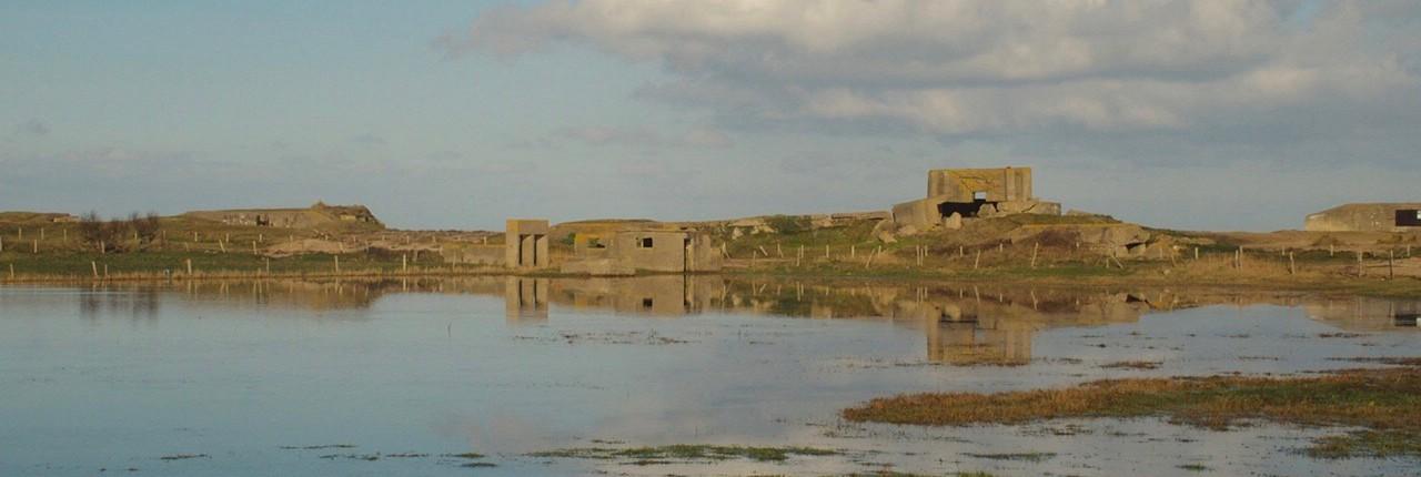 Location Cotentin mer-gîte de bord de mer- Batterie de Néville